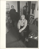 view Photograph of Moses Soyer digital asset: Photograph of Moses Soyer