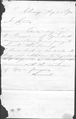view Correspondence between David William Storrs and Hannah Storrs digital asset: Correspondence between David William Storrs and Hannah Storrs