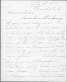 view Correspondence between John Storrs and his sister Mary Storrs digital asset: Correspondence between John Storrs and his sister Mary Storrs