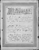 view Tanner Family Marriage Record digital asset: Tanner Family Marriage Record