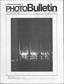 view Periodicals, G. Ray Hawkins Gallery, Photo Bulletin digital asset: Periodicals, G. Ray Hawkins Gallery, Photo Bulletin