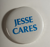 view Pinback Button, Jesse Jackson Presidential Campaign digital asset number 1