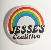 view Pinback Button, Jesse Jackson Presidential Campaign digital asset number 1