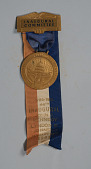 view Inaugural Committee Kennedy/Johnson Ribbon & Medal, 1961 digital asset number 1