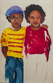 view Two Boys Standing Together digital asset number 1