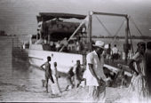 view Field Work in the Eastern Region (Nigeria): Niger River, Asaba-Onitsha Ferry Crossing digital asset: Field Work in the Eastern Region (Nigeria): Niger River, Asaba-Onitsha Ferry Crossing