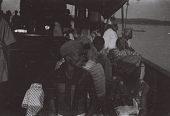 view Field Work in the Eastern Region (Nigeria): Niger River, Asaba-Onitsha Ferry Crossing: Passengers on the Ferry digital asset: Field Work in the Eastern Region (Nigeria): Niger River, Asaba-Onitsha Ferry Crossing: Passengers on the Ferry
