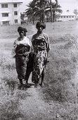 view Field Work in Ibadan, Western Region (Nigeria): Two Elderly Women (probably Yoruba Informants) digital asset: Field Work in Ibadan, Western Region (Nigeria): Two Elderly Women (probably Yoruba Informants)