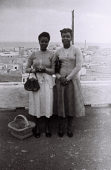view Travel to Western Africa: Local Women at Las Palmas, Canary Islands, One of the Port of Call along the Journey to Lagos, Nigeria digital asset: Travel to Western Africa: Local Women at Las Palmas, Canary Islands, One of the Port of Call along the Journey to Lagos, Nigeria