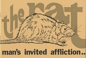 view The Rat: Man's Invited Affliction exhibition records digital asset: The Rat: Man's Invited Affliction exhibition records