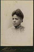 view Portrait of African American woman digital asset: Portrait of African American woman
