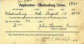 view Applications, Bladensburg Union digital asset: Applications, Bladensburg Union