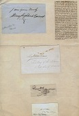 view Benjamin W. Austin Liberian Autograph Collection digital asset: Benjamin W. Austin Liberian Autograph Collection