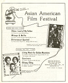 view Asian American Arts and Media, Inc. Collection digital asset: Asian American Film Festival flyer