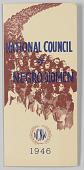 view National Council of Negro Women brochure digital asset: National Council of Negro Women brochure