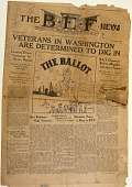 view Bonus Expeditionary Forces  Newspapers digital asset: Bonus Expeditionary Forces news  Vol. 1 No.1