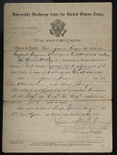 view Enlistment Record for James William Lucus, World War I digital asset: Enlistment Record for James William Lucus, World War I