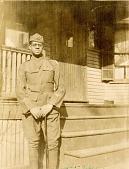 view Theodore Milton Sullivan posing in his army uniform digital asset: Theodore Milton Sullivan posing in his army uniform