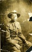 view Portrait of World War I soldier, Theodore Milton Sullivan digital asset: Portrait of World War I soldier, Theodore Milton Sullivan