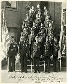 view Theodore M. Sullivan with his American Legion Post digital asset: Theodore M. Sullivan with his American Legion Post