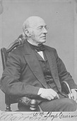 view William Lloyd Garrison digital asset: Portrait of William Lloyd Garrison