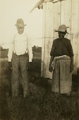 view James (Napoleon) Rogers and Adeline (Annie) Rogers [Gullah informants] digital asset: James Napoleon and Annie (Adeline) Rogers [Gullah informants] in Harris Neck, Ga