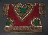 view Dashiki with heart shaped patterns digital asset number 1