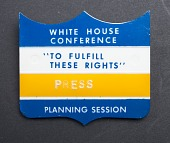 view White House Conference Press Badge digital asset number 1