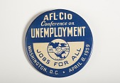 view ALF-CIO Conference on Unemployment Pin digital asset number 1