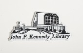 view [John F. Kennedy Library magnet] digital asset number 1