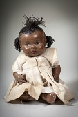 view Moveable Porcelain Baby Doll digital asset number 1