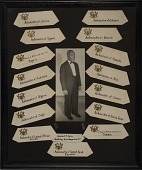 view Collage with Percival Bryan Photograph and Ambassador Seating Arrangements digital asset number 1