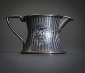 view Small Silver Creamer with Handle digital asset number 1