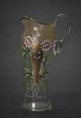 view Painted Glass Pitcher digital asset number 1