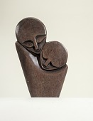 view Mother and Child Sculpture digital asset number 1
