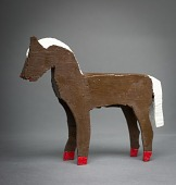 view Brown Wooden Horse digital asset number 1