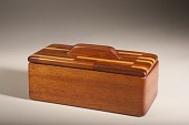 view Wood Box with Parquet Lid digital asset number 1