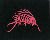 view Red Fish Paper Cutting digital asset number 1
