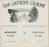 view The Jayson Camps / Monterey For Boys / Owaissa For Girls digital asset: The Jayson Camps / Monterey For Boys / Owaissa For Girls