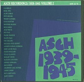 view The Asch Recordings, 1939 to 1945 Vol. 2 [sound recording] digital asset number 1