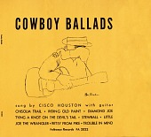 "view 900 Miles and other R.R. songs (Combined on 12"" LP with 2022, Cowboy Ballads) [sound recording] / Cisco Houston digital asset number 1"