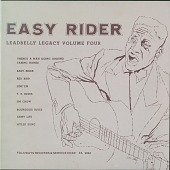 view Lead Belly Legacy, Vol. 4: Easy Rider [sound recording] digital asset number 1