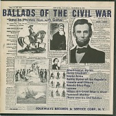view Ballads of the Civil War - Vol. 1, 1831-1861 [sound recording] digital asset number 1