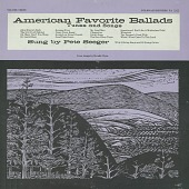 view American favorite ballads [sound recording] : songs and tunes. Vol. 3 / sung by Pete Seeger digital asset number 1