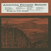 view American favorite ballads [sound recordings] : tunes and songs. Vol. 4 / sung by Pete Seeger digital asset number 1