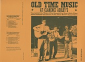 view Old time music at Clarence Ashley's [sound recording] / recorded by Eugene Earle and Ralph Rinzler digital asset number 1