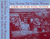 view American folk song festival [sound recording] : Jean Thomas, the traipsin' woman digital asset number 1