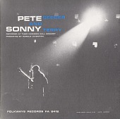 view Pete Seeger and Sonny Terry [sound recording] : recorded at their Carnegie Hall Concert digital asset number 1
