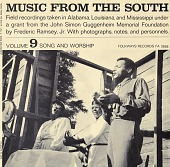 view Music from the South. Vol. 9 [sound recording] : song and worship / recordings taken by Frederic Ramsey, Jr digital asset number 1
