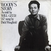 view Woody's story [sound recording] / as told by Will Geer and sung by Dick Wingfield digital asset number 1